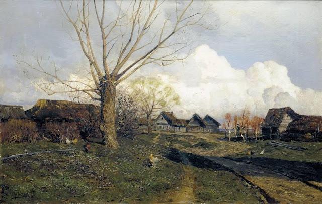 Исаак Ильич Левитан - Саввинская слобода под Звенигородом. 1884