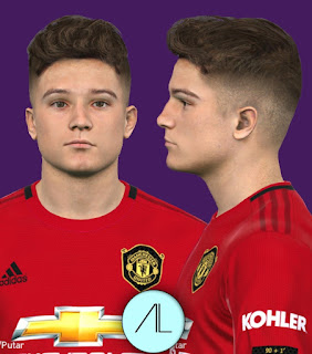 PES 2017 Faces Daniel James by Alief