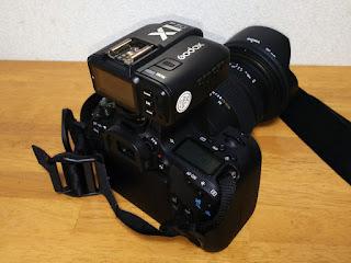 Canon EOS 9000D +Godox X1T-C TTLワイヤレスフラッシュトリガー-2