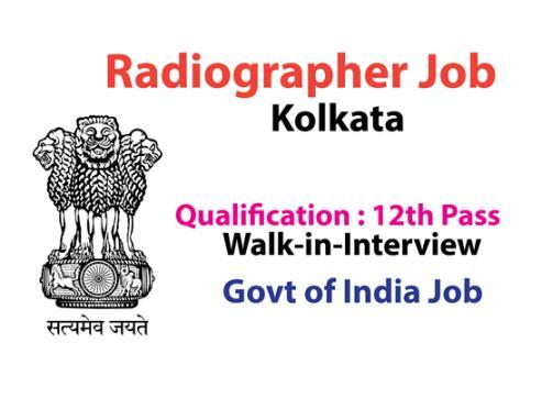 Radiographer Job in Kolkata Post Trust