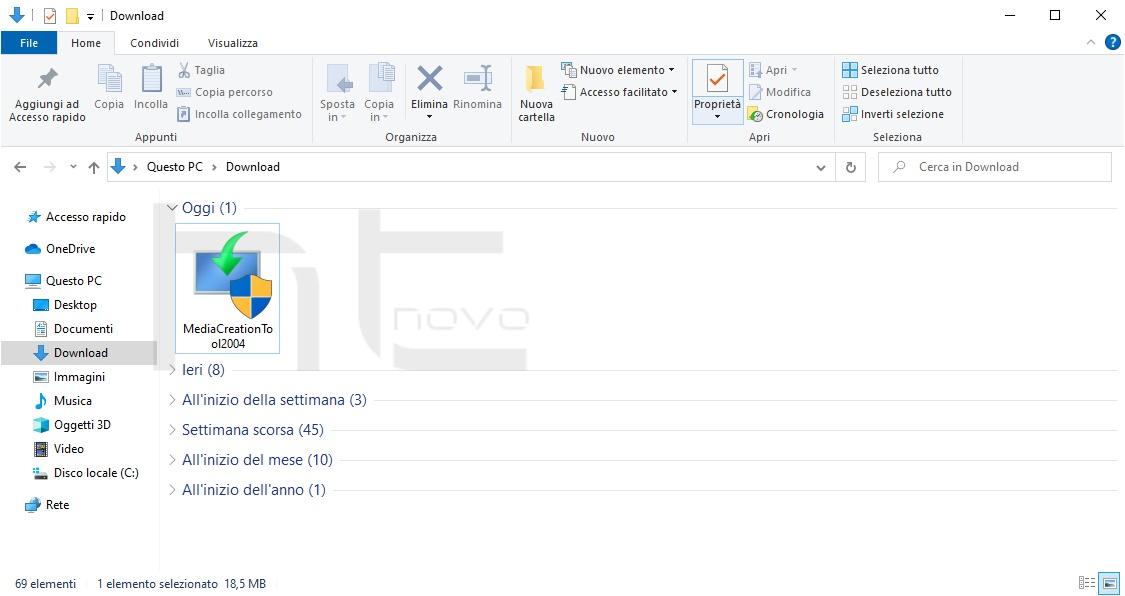 [Anteprima] Download Windows 10 Versione 2004 tramite Media Creation Tool