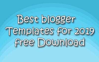 best blogger templates for adsense