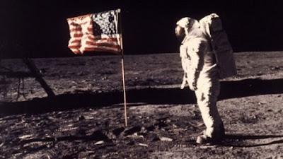 Ventana na lua indicam farsa da ida do homem a lua