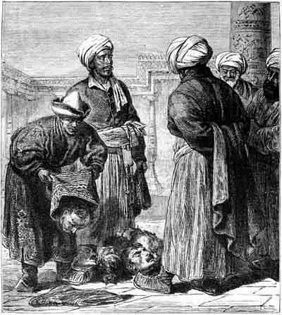 Василий Васильевич Верещагин - Туркмены, представляющие военные трофеи хивинскому хану. 1868