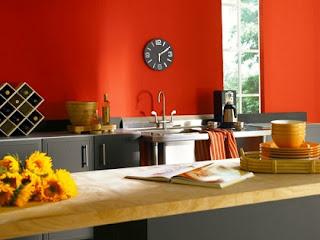 Decoración cocina acogedora
