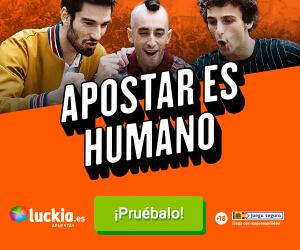 promoción Bono Bienvenida Luckia 200 euros