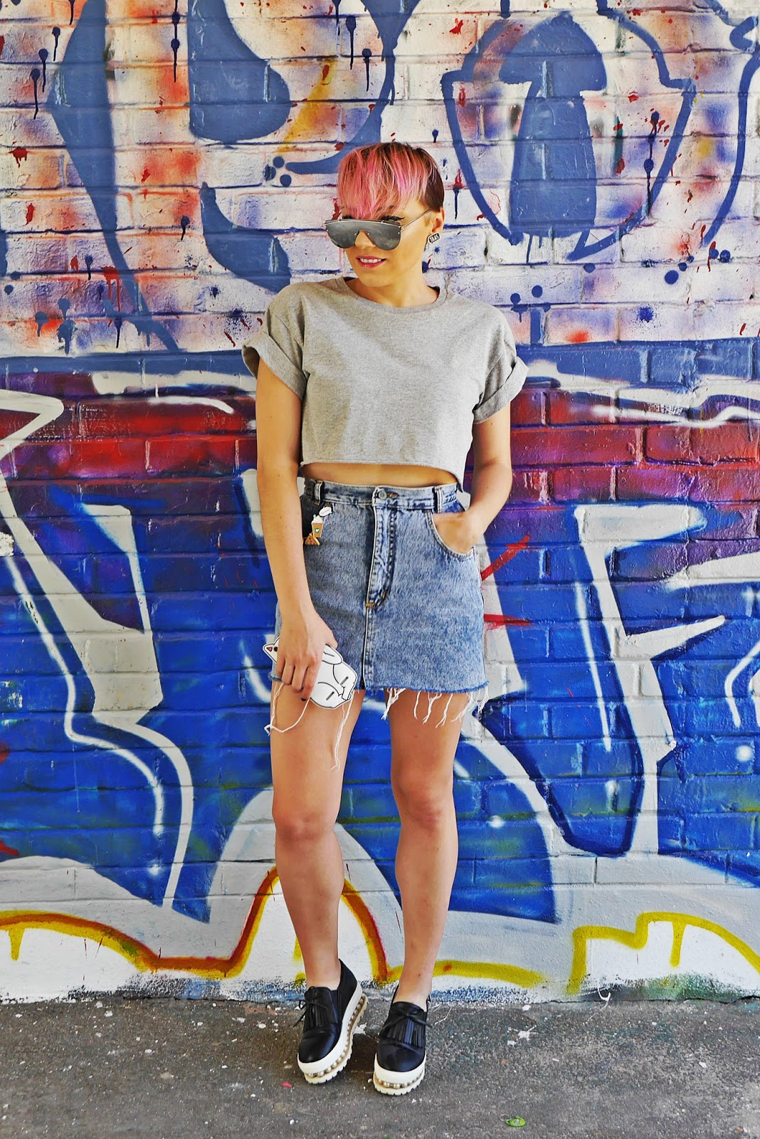jeansowa_spodnica_crop_top_rozowe_wlosy_karyn_blog_modowy_160717