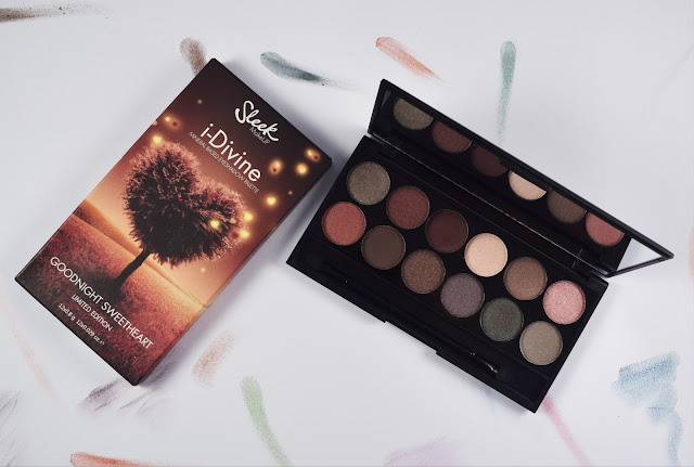 Sleek i-Divine Goodnight Sweetheart Palette