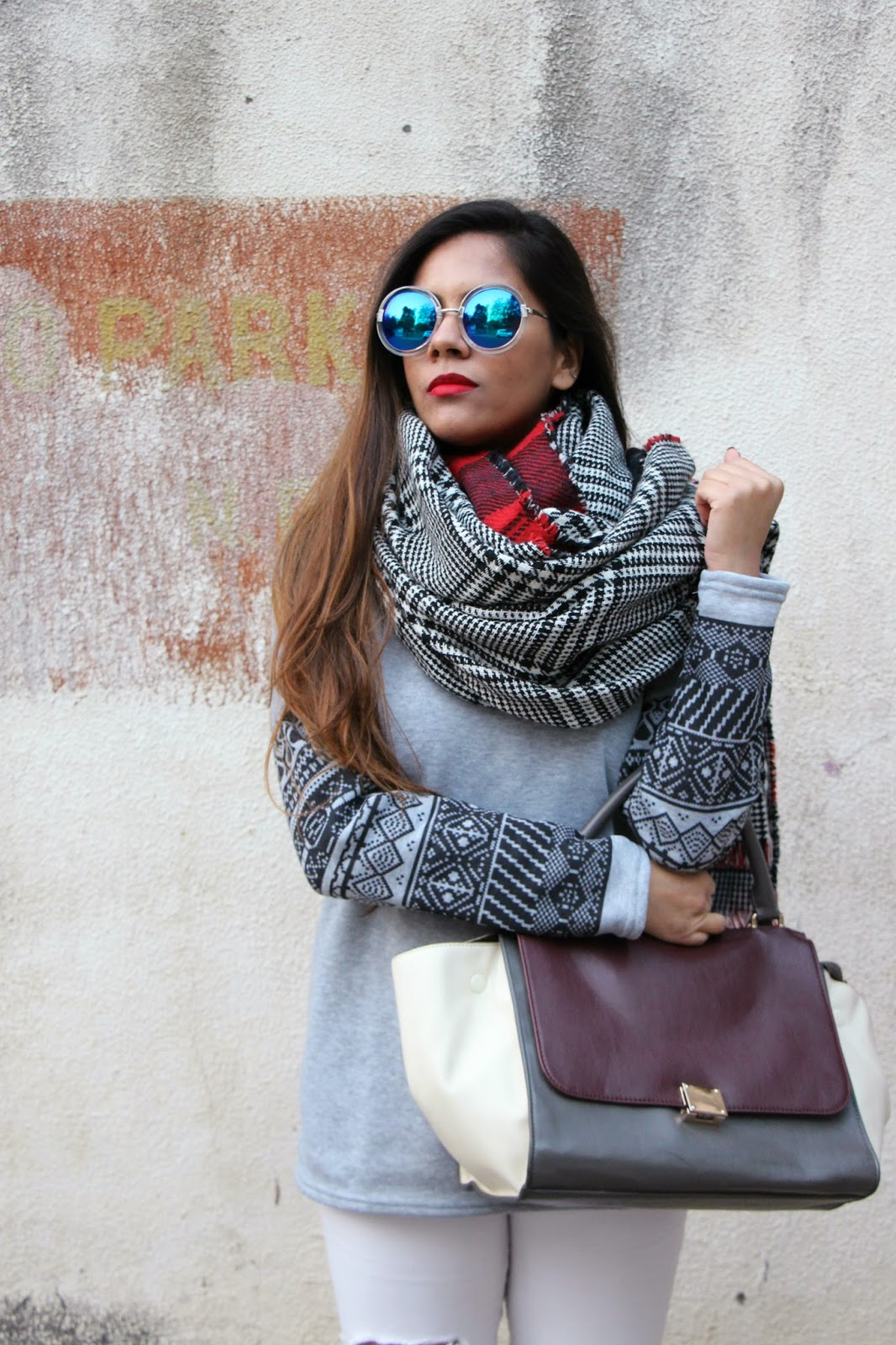 Warm Winter Outfit Delhi Style