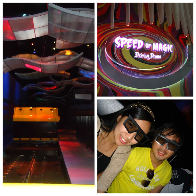Speed of Magic at Ferrari World, Yas Island Abu Dhabi