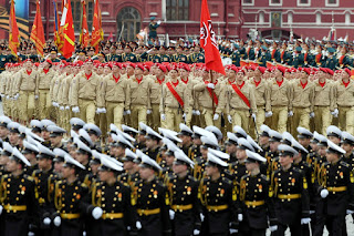 Parade Victory Day Rusia