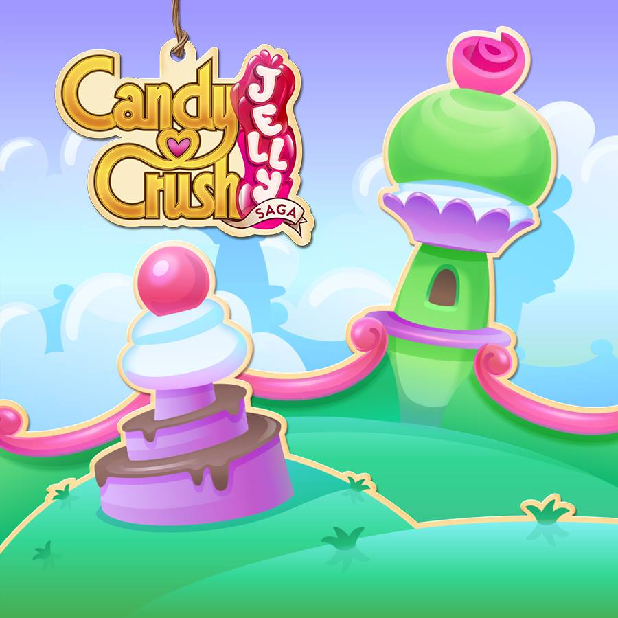 Candy Crush Jelly Saga Saga 461-480
