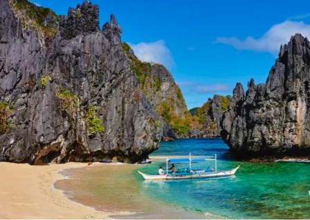 tempat wisata terindah di dunia PULAU PALAWAN