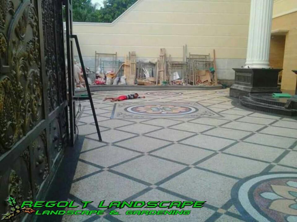 Jasa Tukang Pembuatan Batu Sikat Carport Banjarmasin