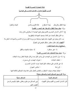 مذكرة دراسات الاجتماعية للصف الرابع الابتدائي الترم الأول لمدرسة النزهة للغات