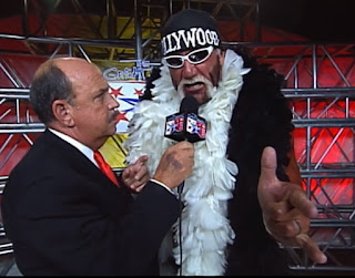 WCW - The Great American Bash 2000 - Mean Gene interviews Hollywood Hulk Hogan about his match with Billy Kidman