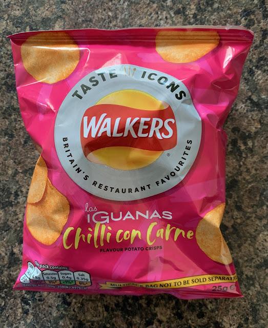 Walkers Las Iguanas Chilli Con Carne Flavour Crisps