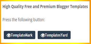 make a button on blogger