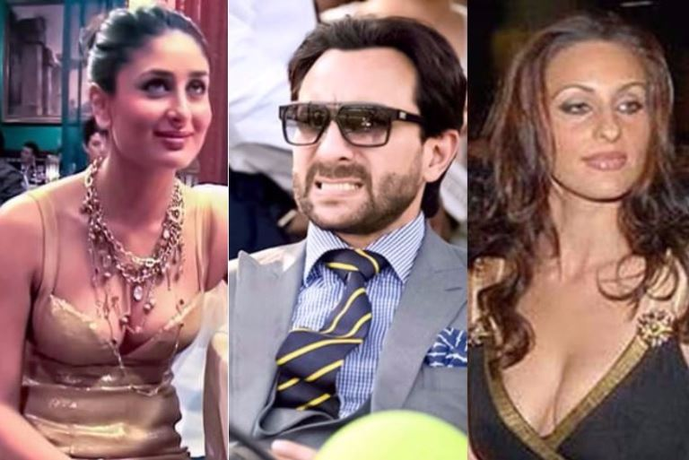 Saif Ali Khan Has Live In Relationship With Rosa Catalano