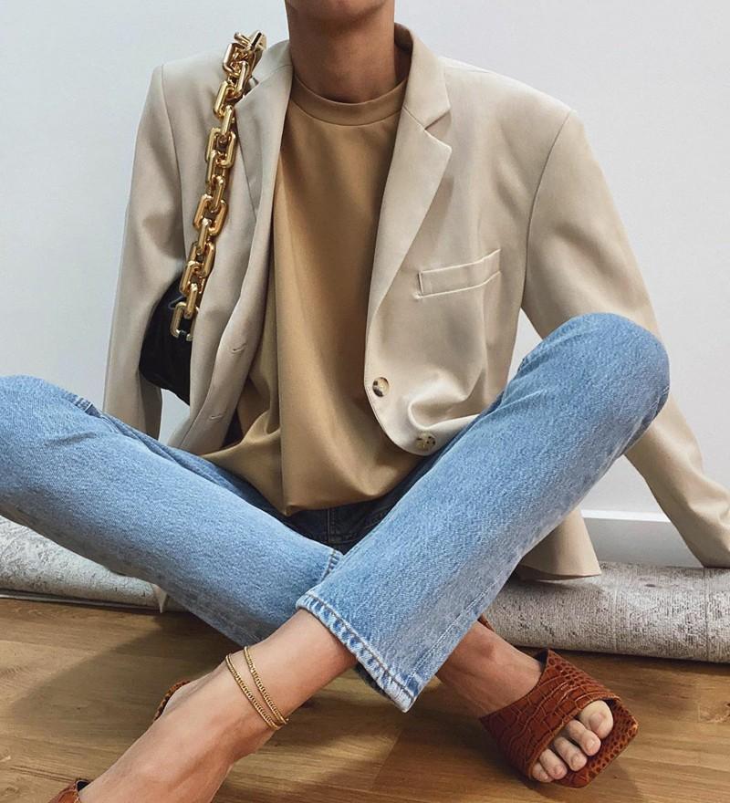 Blazer com jeans o combo fashion mais do que perfeito