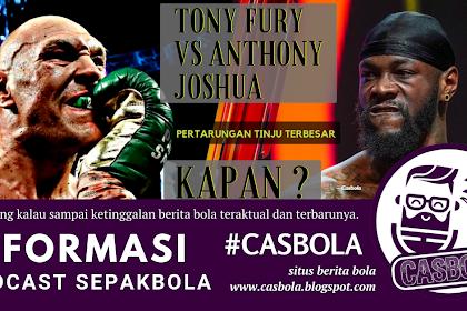Tyson Fury Sepakat Bertarung Dengan Anthony Joshua