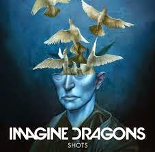 "Capa do single ""Shots"" do Imagine Dragons"