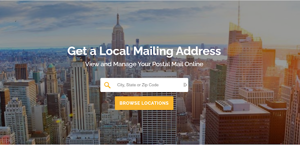 Private Mailbox Rental Service with virtual access