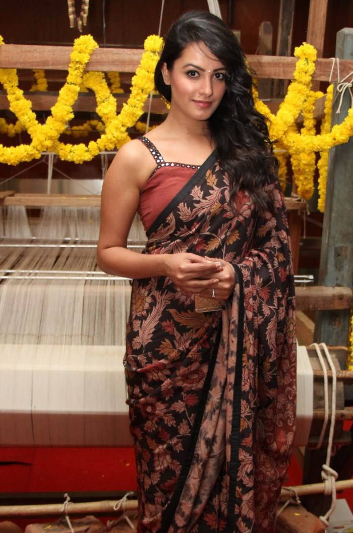Actress Anita Hot Photos In Black Saree
