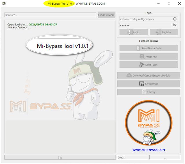 Mi Bypass Tool V1.0.1