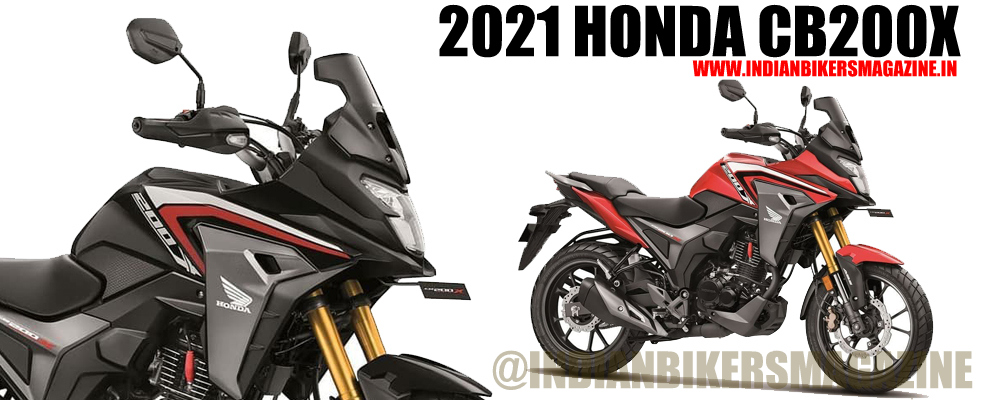 Honda CB200x Adventure Tourer   Colours, Specification and Price