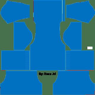 Kit DLS Polos Biru