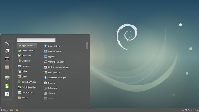 Debian Desktop Image