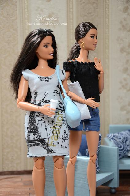Barbie Fashionistas #78 Floral Frills
