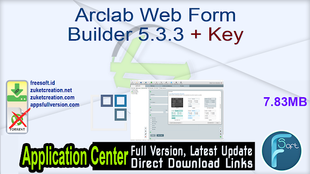Arclab Web Form Builder 5.3.3 + Key