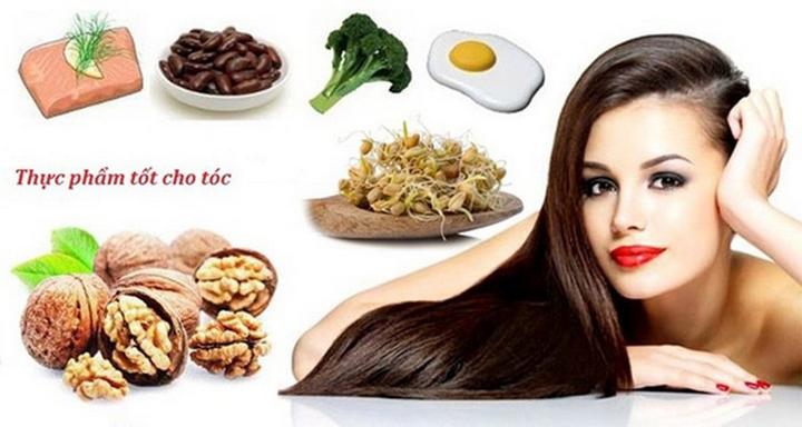 Thực phẩm tốt cho tóc và các nhóm thực phẩm kích thích mọc tóc không nên bỏ qua