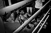 buakaw train for the coming fight