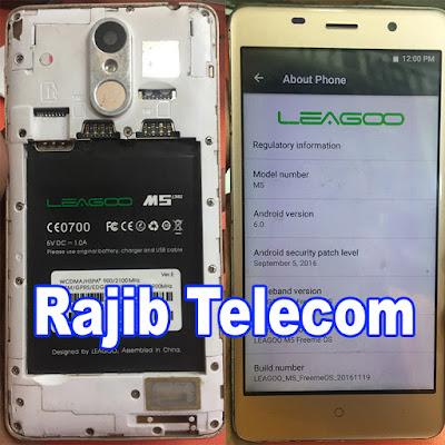 Leagoo M5 Flash File
