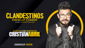 CLANDESTINOS Stand Up Comedy 20 FEB 2020