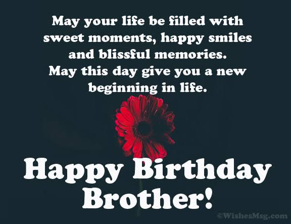 100 Best Happy Birthday Brother Wishes Quotes Messages Images Collection