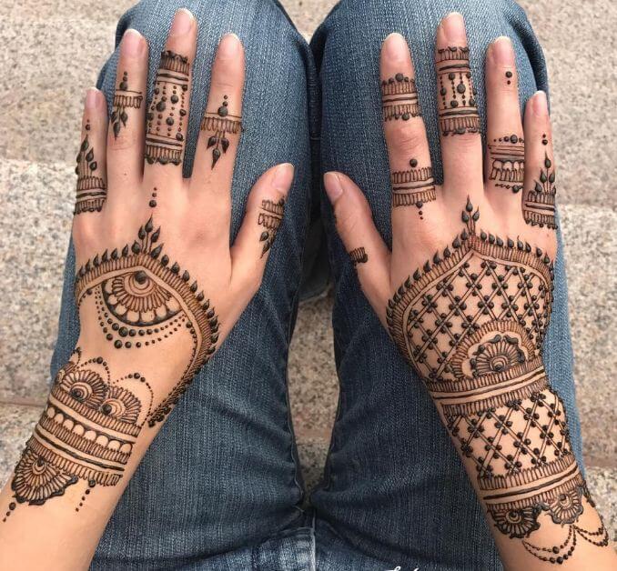 Red Henna Tattoo Hand: 50 Amazing Henna Tattoos For Girls (2018)