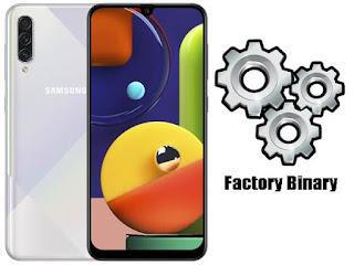 روم كومبنيشن Samsung Galaxy A50s SM-A507FN