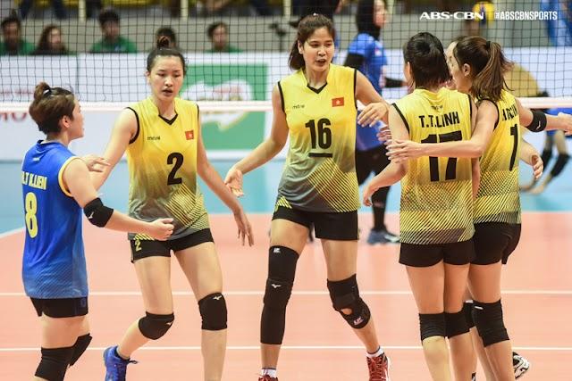 Bóng chuyền nữ Việt Nam xếp hạng 37 thế giới