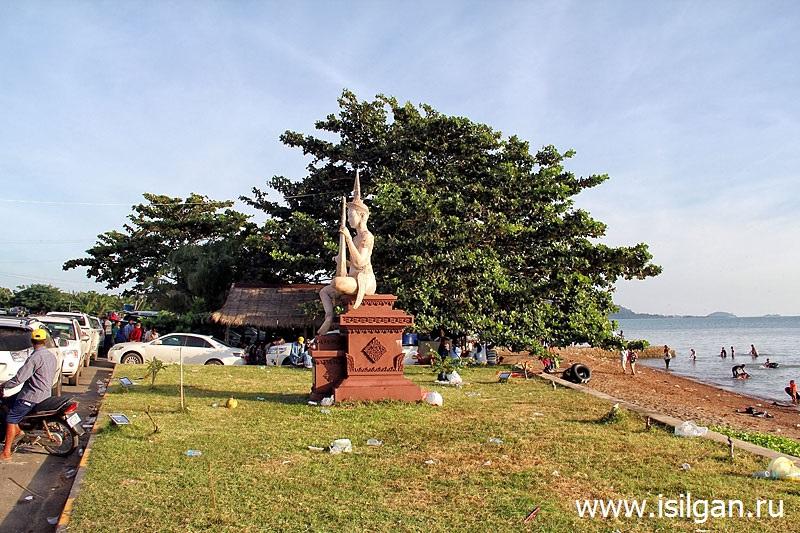 Город Кеп. Камбоджа