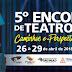 5º Encontro de Teatro de Mauá |Caminhos e Perspectivas da Cena