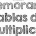 """JUEGO """"MEMORAMA DE TABLAS DE MULTIPLICAR"""" PARA NIÑOS DE PRIMARIA."""
