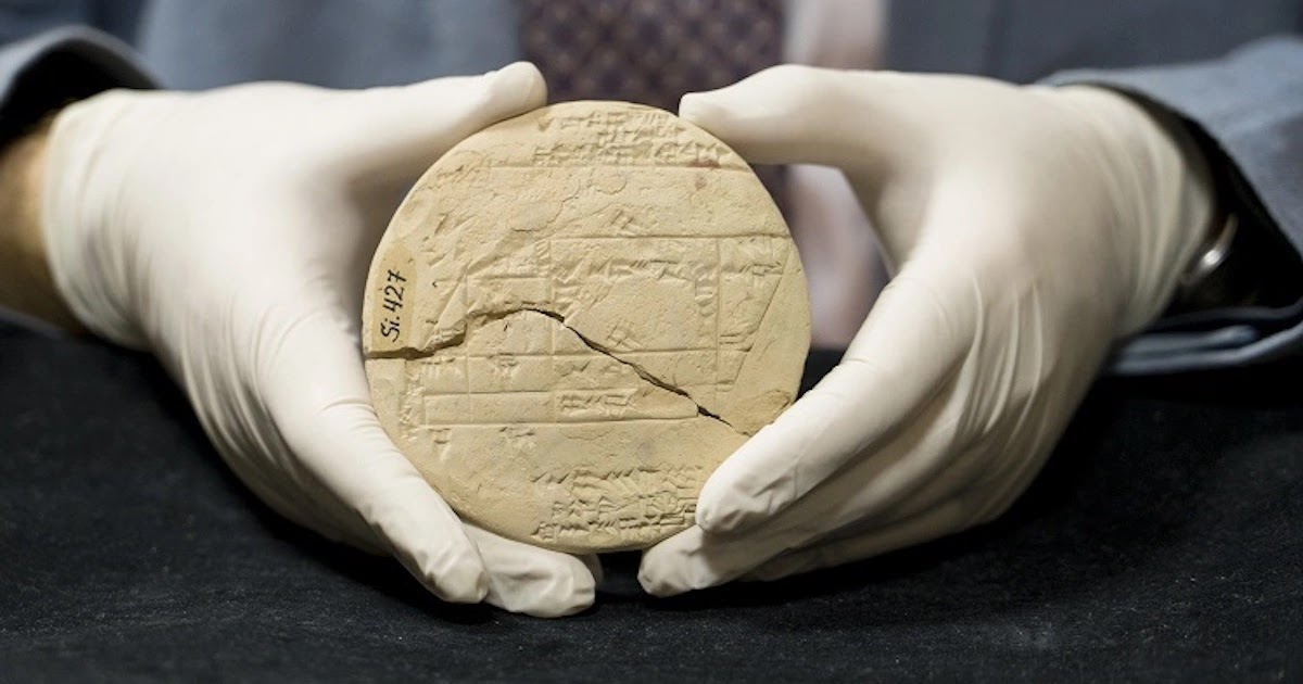 3,700-Year-Old Tablet Shows The Oldest Known Example of Applied Geometry