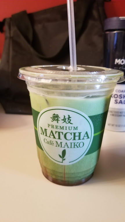 Matcha Chocolate drink from the new matcha cafe in Troy, MI