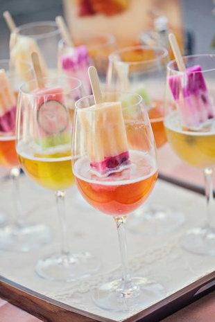Resopón de helados para una boda de verano - Foto: www.weddingwire.com