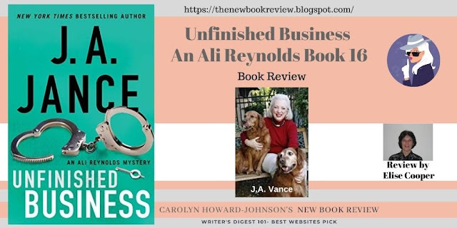Elise Cooper Shares Newest in J.A. Jance's Mystery/Thriller Series