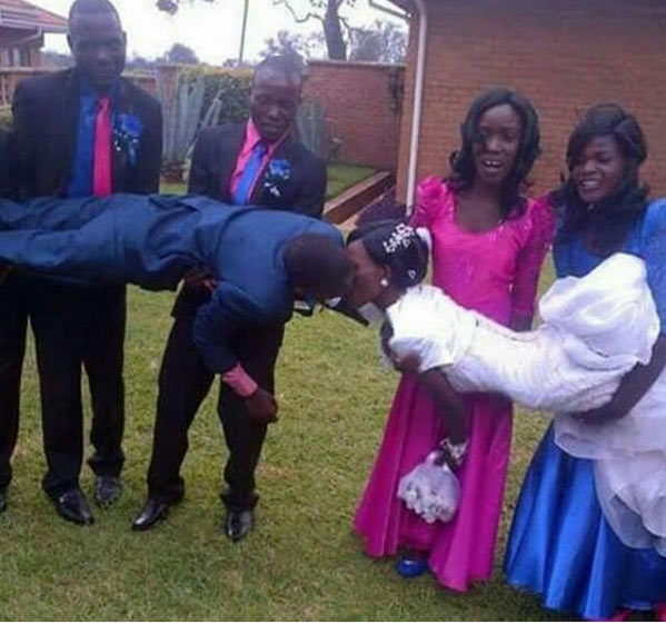 Kenyan couple sets the Internet on fire with adorable wedding picture